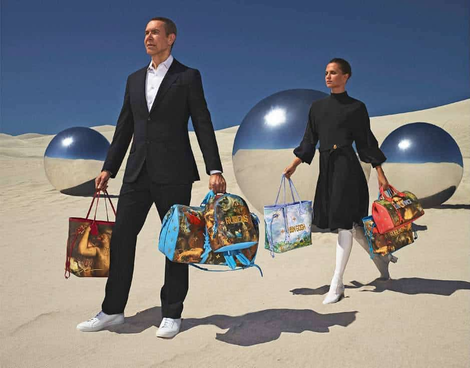 EcoLux☆Lifestyle: Vuitton x Koons Creates New Old Masters