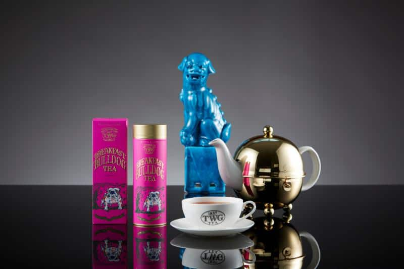 EcoLux☆Lifestyle: Behold the Shocking Pinkness of TWG's Breakfast Bulldog Tea