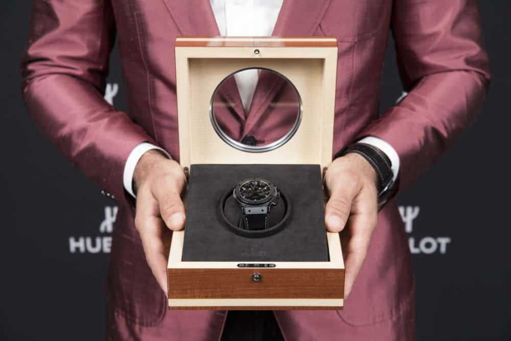 "EcoLux☆Lifestyle: Hublot Vancouver Hosts New ""Jose Bautista"" Chronograph"