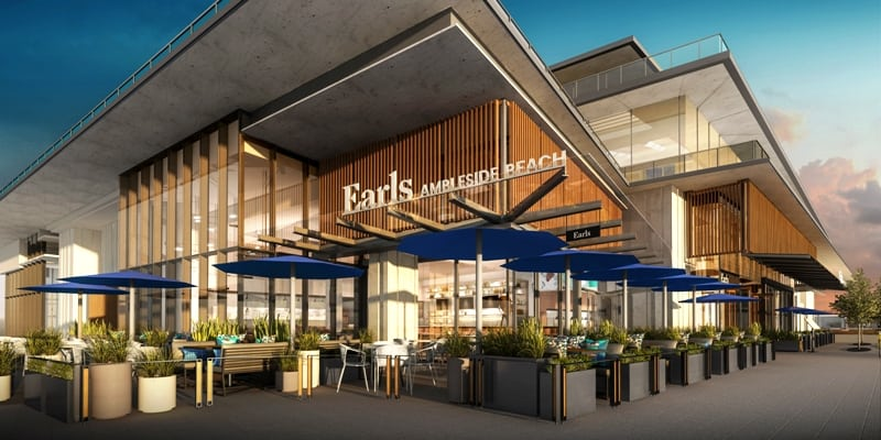 EcoLux☆Lifestyle: Earls Ambleside Beach Fires Up the  Veggie Grill