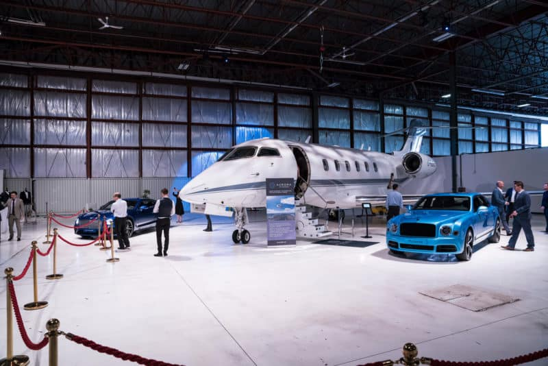 EcoLux☆Lifestyle: Redesigned Bentley Continental GT Launched at Aurora Jet Hangar [PHOTOS]