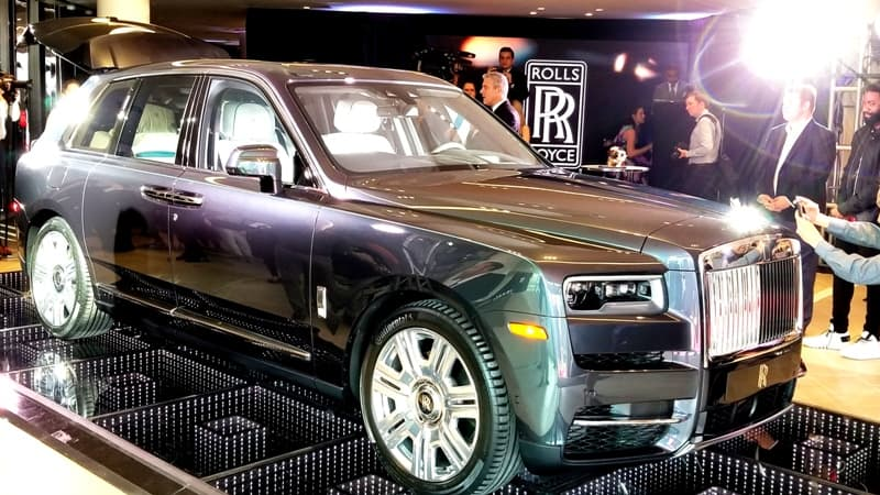 EcoLux☆Lifestyle: Rolls-Royce Pops the Moet at New Showroom & Debuts Cullinan