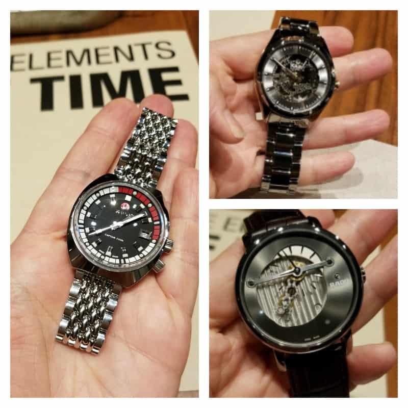 Rado Watches, Fairmont Hotel, Downtown Vancouver, Vancity, YVR, BC, Elements of Time, EcoLuxLuv, Helen Siwak