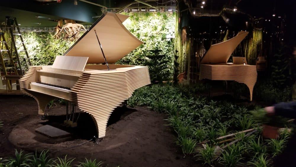 Paulo Fazioli Attends Unwritten to Visit the Kengo Kuma Grand Piano