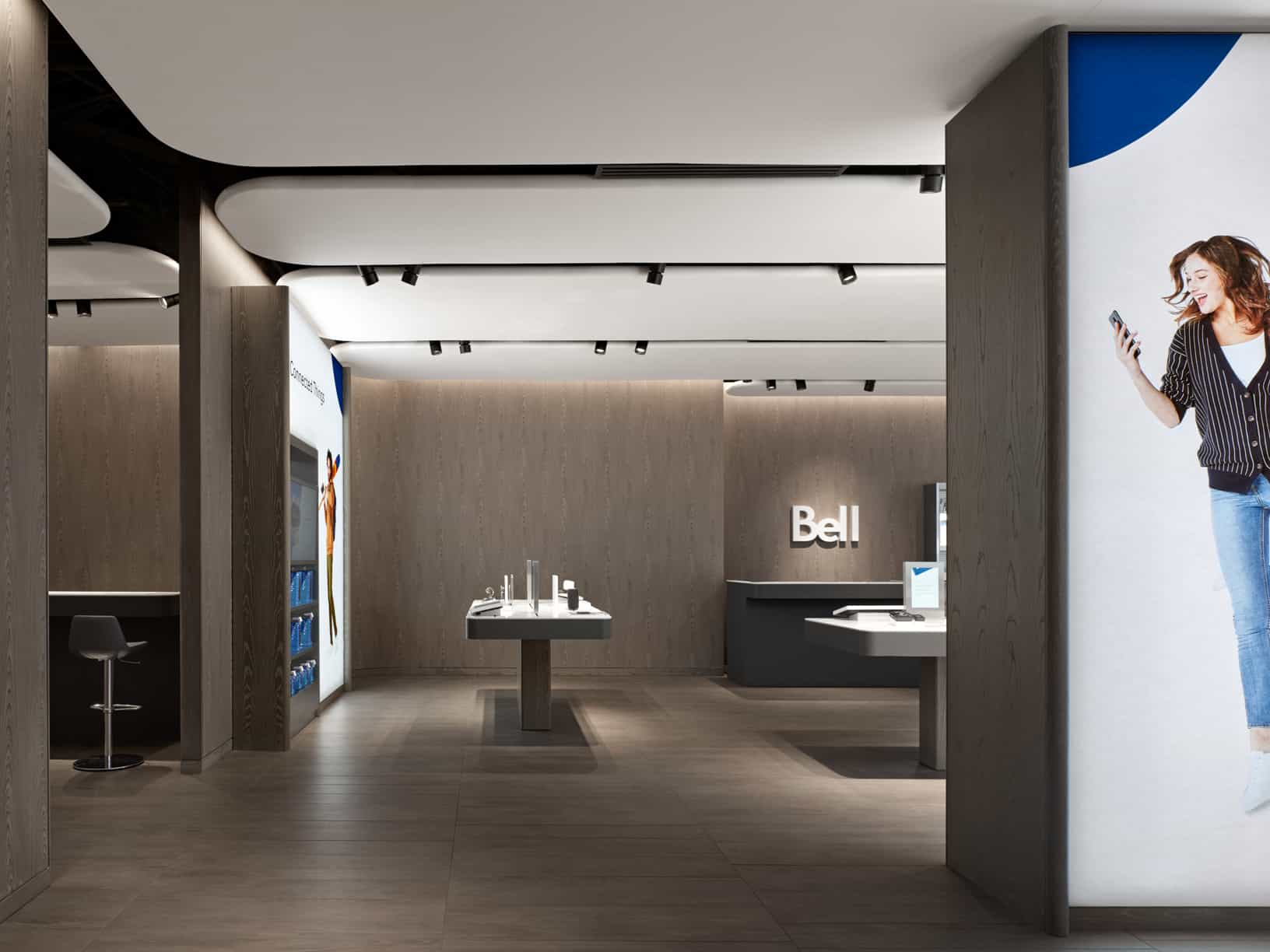 Bell Canada Launches 'Next-Gen' Retail Experience Designed by Award-Winning Firm