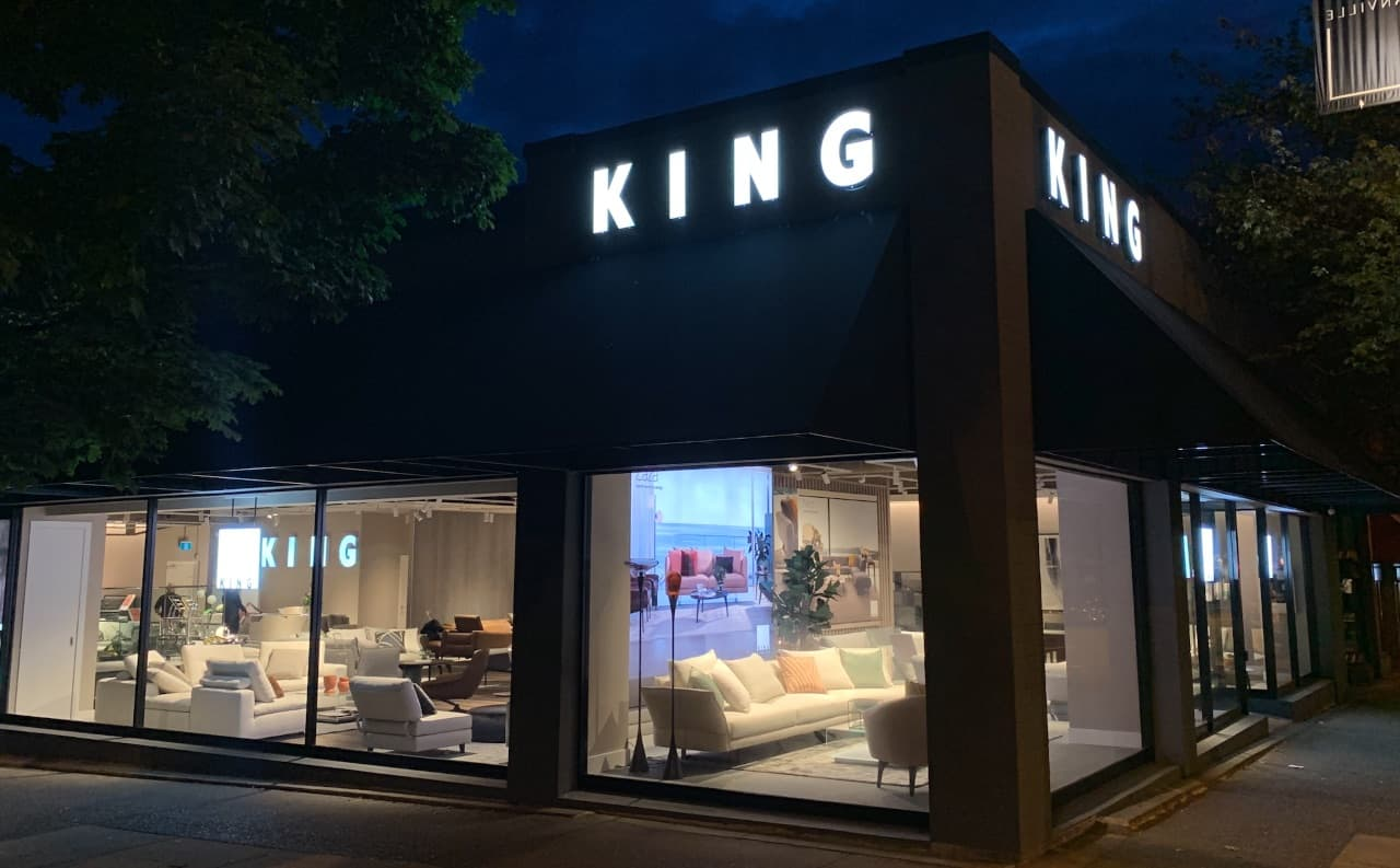 EcoLux☆Lifestyle: Australian Furniture Brand King Living Opens on South Granville