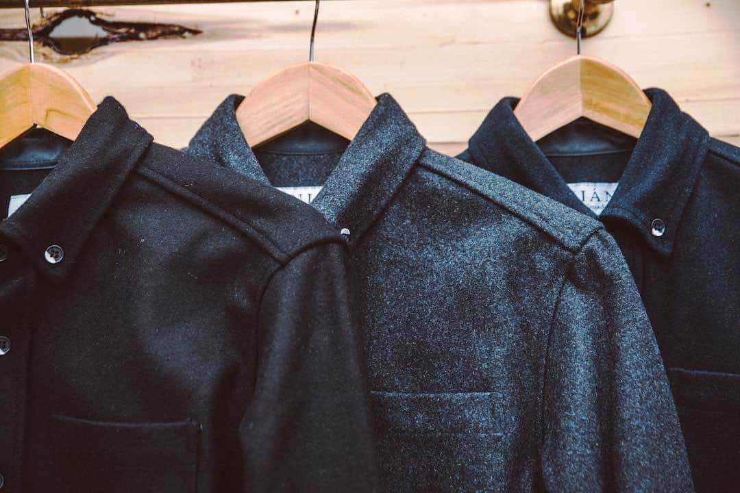 EcoLux☆Lifestyle: Anian Modern Melton: Sustainable Wool Redesigned