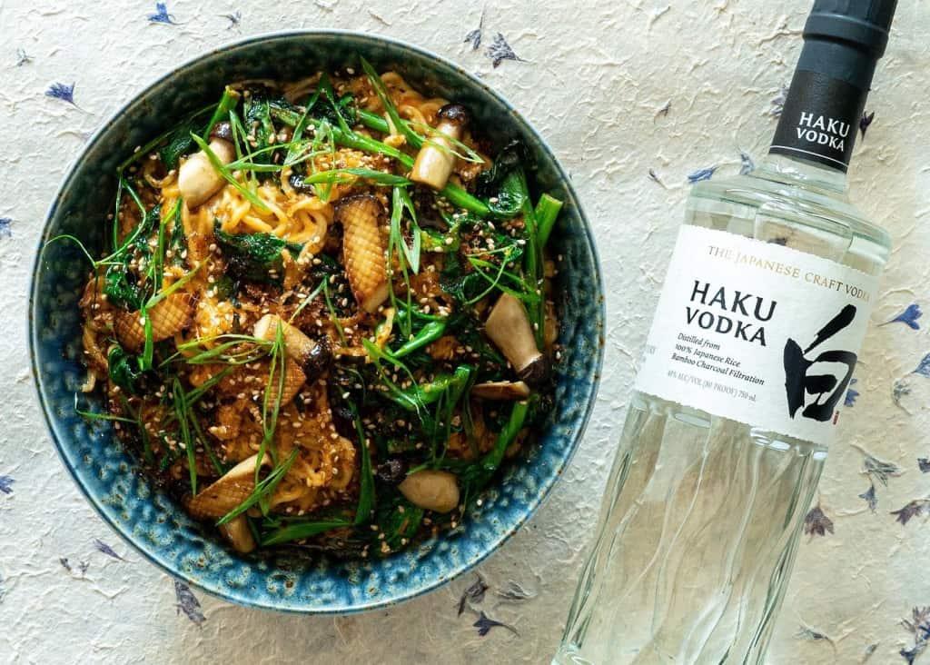 EcoLux☆Lifestyle: Chef and Inspiration: Juno Kim x Suntory Haku Vodka
