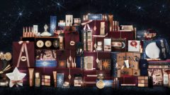 a display of charlotte tilbury products
