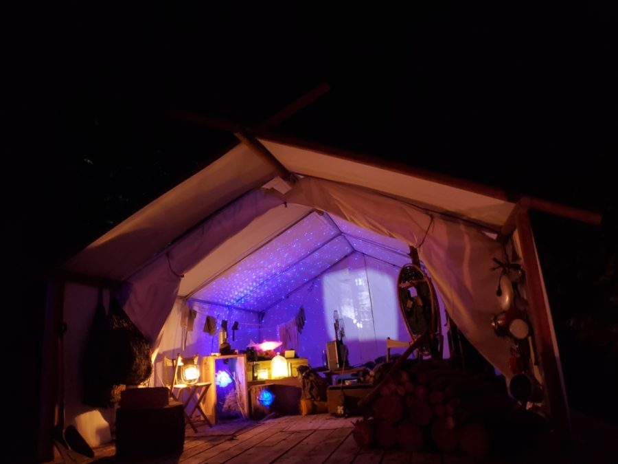 view of a tent in whistler