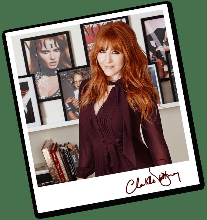 charlotte tilbury portrait with makeup