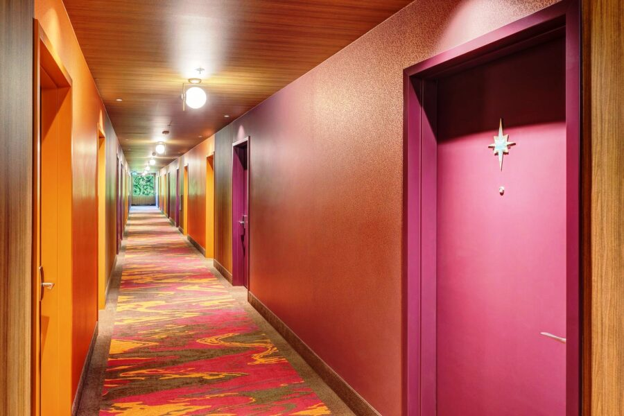 hotel zed, beattie tartan, tofino, retro, helen siwak, vancouver, vancity, yvr, bc, ecoluxluv
