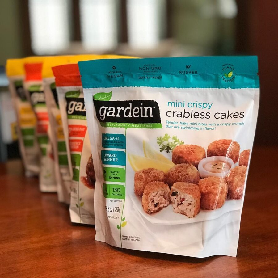 gardein crabless cakes are excellent plantbased meat options