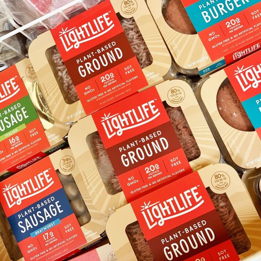 lightlife is excellent plantbased burgers and sausage