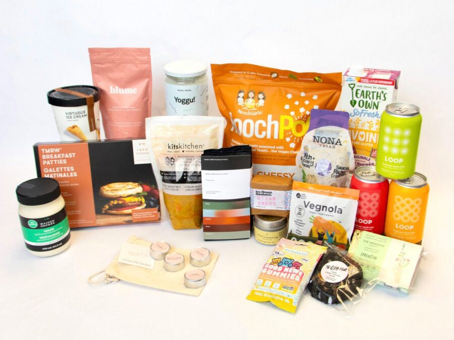 TMRW foods, vegan, subscription box, plantbased, helen siwak, in hells belly, food blog
