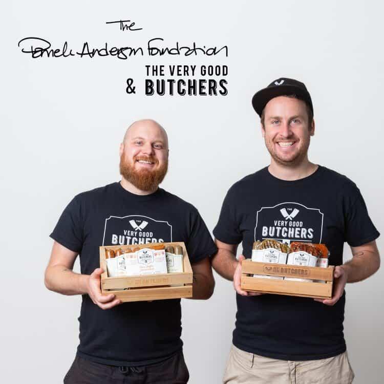 the very good butchers, pamela anderson, vegan, plantbased, peta, sea shepard, helen siwak, vancouver, bc, vancity, yvr
