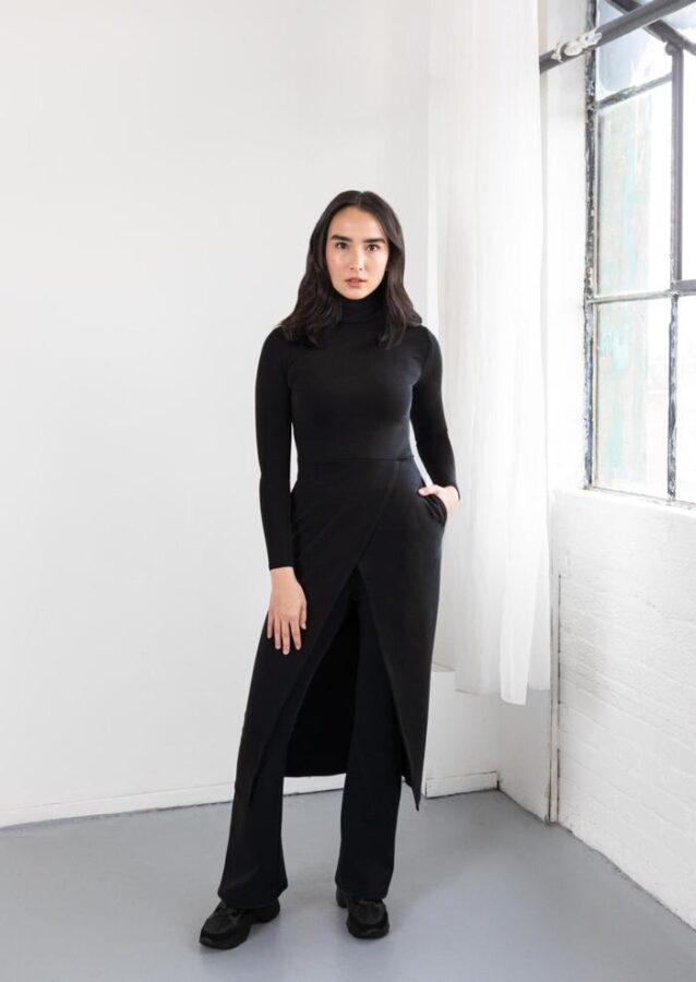 Hilary MacMillan, fashion, sustainable capsule collection, ecoluxlifestyle, helen siwak, vancouver, vancity, yvr, bc