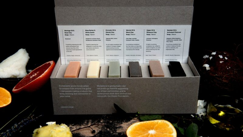 EcoLux☆Lifestyle: Obakki Launches New Cold-Pressed Soaps that are Free-of & 100% Natural