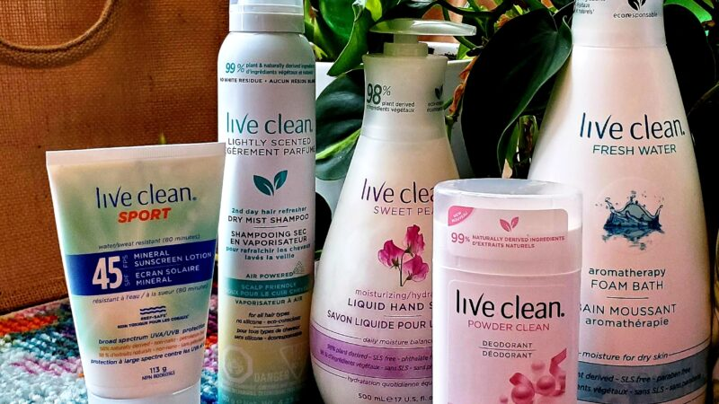 365 Days of Eco-Living with Live Clean Personal Products
