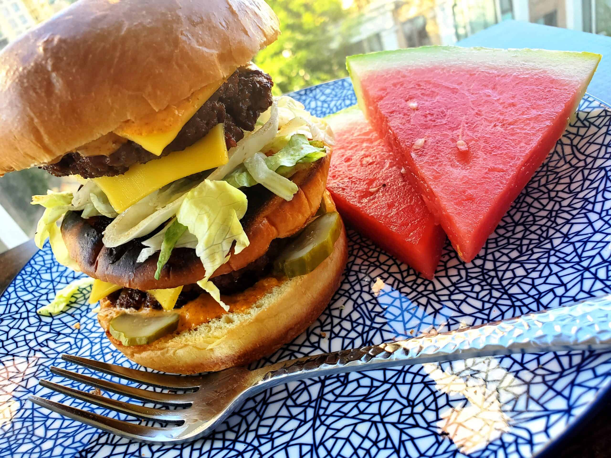 Perfecting the Patio Picnic with Ecofriendly Drinks, Burgers & Grill