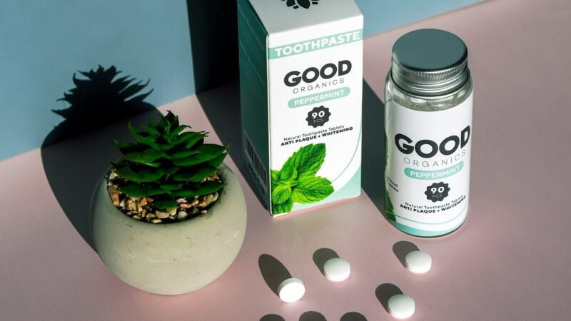 Bite Down on This! BC-based Good Organics Launches Organic Toothpaste Tablets