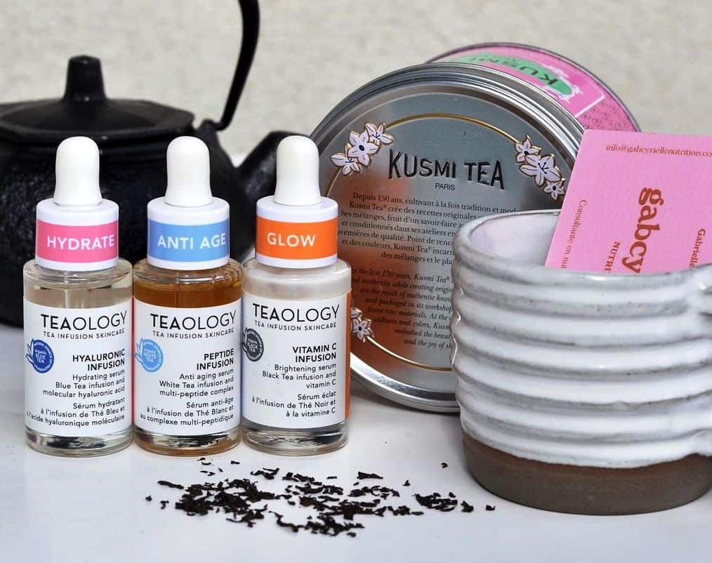 Teaology: Introduces 3 Powerful Serums Infused with Tea